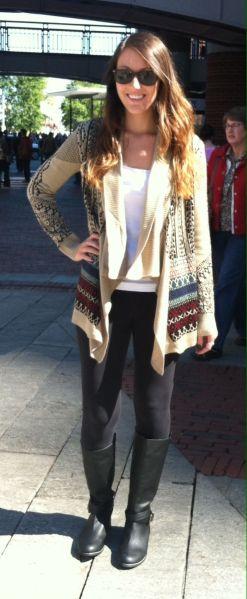 Aztec inspired sweater